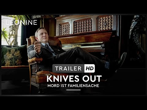 KNIVES OUT - MORD IST FAMILIENSACHE - Trailer (deutsch/german)
